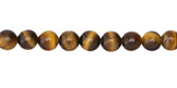 Tiger Eye (A) Round 6mm