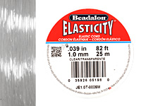 Elasticity Clear 1.0mm, 25 meters