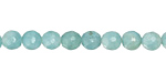 Amazonite (AA) Faceted Round 6mm