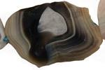 Botswana Agate Faceted Flat Slab Graduated 19-76x24-50mm