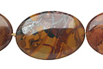 Autumn Jasper Flat Slab 32-38x24-28mm