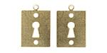 Vintaj Vogue Keyhole Blank 15x20mm