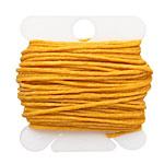Bright Autumn Yellow Irish Waxed Linen 7 ply