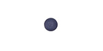 Matte Navy Blue Resin Round Cabochon 6.5mm