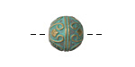 Zola Elements Patina Green Brass (plated) Archways Round 14mm