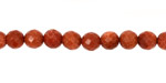 Goldstone Faceted Round 6mm