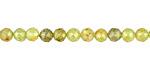Green Garnet Faceted Round 4-4.5mm
