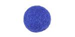 Cobalt Felt Round 20mm