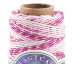 Fairy & Metallic Silver Hemp Twine 20 lb, 187 ft