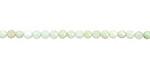 Australian Green Chrysoprase (AAA) Diamond Cut Faceted Round 3mm
