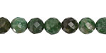 Verdite Faceted Round 8mm