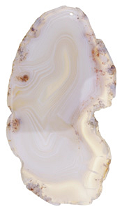 Agate Slice Large Freeform Pendant 35-66x101-165mm