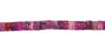 Purple Crazy Lace Agate Heishi 4mm