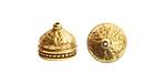 Nunn Design Antique Gold (plated) Ornate Tassel Cap 12x10mm