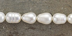 Pearly White Freshwater Rice Pearl 10-11mm