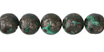 Malachite & Pyrite Round 10mm