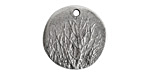 Nunn Design Antique Silver (plated) Rocky Mountain Charm 20mm