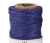 Navy Blue Hemp Twine 10 lb, 205 ft