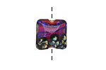 Grace Lampwork Violet Twilight Pillow 15mm