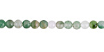 Green Chalcedony Round 4mm