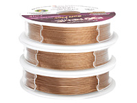 Soft Flex Trios Extreme Champagne Assorted Sizes Wire 3x10ft.