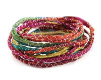 Fireworks 100% Silk Sari Ribbon Cord