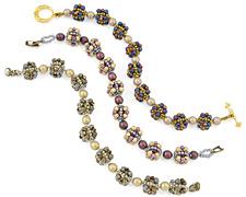 Bon Bon Bracelet Pattern for Czech Glass