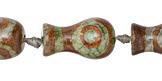 Tibetan (Dzi) Agate Vase 23-25x13-15mm