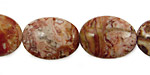 Rosetta Lace Agate Flat Oval 20x15mm
