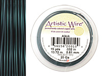 Artistic Wire Aqua 20 gauge, 15 yards