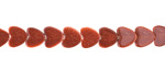 Goldstone Heart 6mm