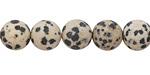 Dalmatian Jasper (matte) Round 10mm