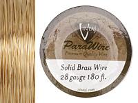 Vintaj Solid Brass Wire 28 gauge, 180ft.