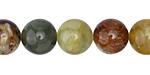 Antique Soochow Jade Round 12mm