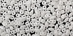 Luster Opaque White MiniDuo 2x4mm Seed Bead