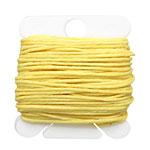 Lemon Yellow Irish Waxed Linen 7 ply