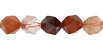 Red Rutilated Quartz Star Cut 10mm