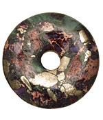Pyrite & Impression Jasper Composite Donut 49mm
