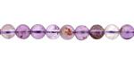 Purple Phantom Quartz (Auralite-23) Round 6mm