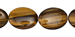 Tiger Eye Flat Oval 20x15mm