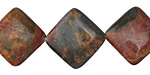 Red Creek Jasper Diamond 21mm