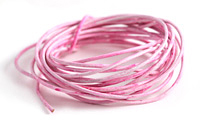 Weathered Rose Leather Cord 1.5mm