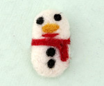 Felt Snowman 16x27mm