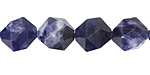 Sodalite Star Cut Round 12mm