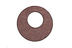 Lillypilly Burgundy Leather Mini Open Round 25mm