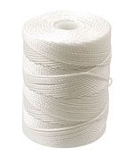 C-Lon White (.5mm) Bead Cord