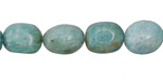 Brazil Amazonite Tumbled Nugget 10-13x9-11mm