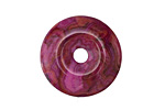 Ruby Crazy Lace Agate Donut 25mm