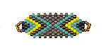 Trinidad Hand Woven Focal Piece 36x12mm