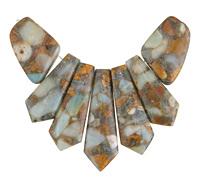 Impression Jasper Mosaic Pendant Set 20-45mm